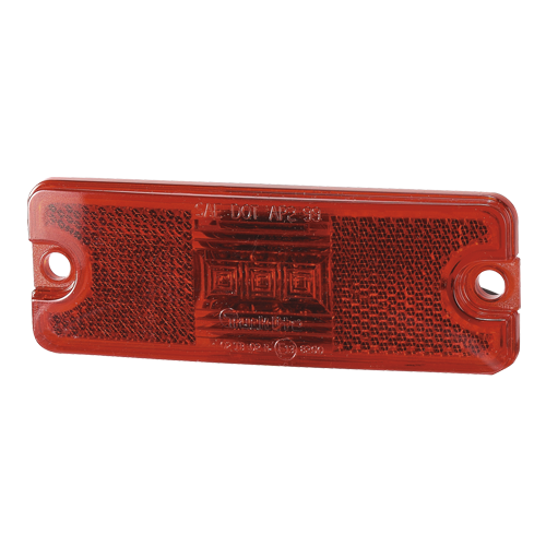 91808 Narva 10-30 Volt L.E.D Rear End Outline Marker Lamp (Red)