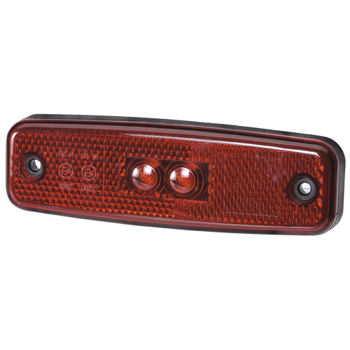 92010 Narva 10-30 Volt L.E.D Rear End Outline Marker Lamp (Red) and 0.5m Cable