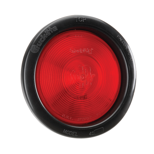 94014 Narva 24 Volt Sealed Rear Stop/Tail Lamp Kit (Red) with Vinyl Grommet