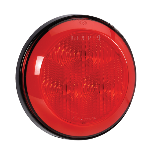 94301 Narva 9-33 Volt L.E.D Rear Stop/Tail Lamp (Red) with 0.5m Hard-Wired Sheat