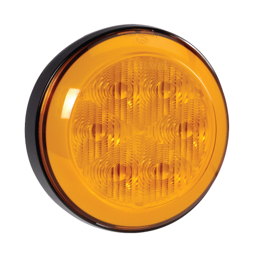 94303 Narva 9-33 Volt L.E.D Front Direction Indicator Lamp (Amber) with 0.5m Har