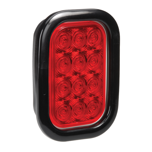 94534 Narva 9-33 Volt L.E.D Rear Stop/Tail Lamp Kit (Red) with Vinyl Grommet, Pl