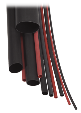 56684 Narva Red Dual Wall Heatshrink Tubing - 4.8mm
