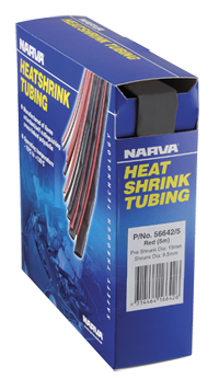 56624/5 Narva Black Heatshrink Tubing Dispensers - 25.4mm