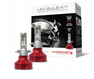 JW Speaker 3600 HB3 H10 6200k white Driverless LED Headlight Kit 990005D