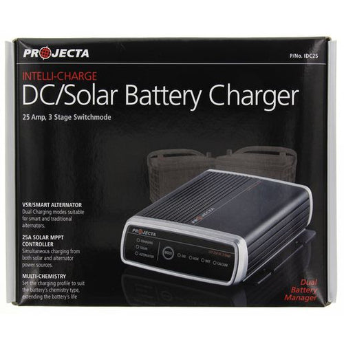 Projecta IDC25 Automatic 9-32V 25A 3 Stage DC / Solar Battery Charger