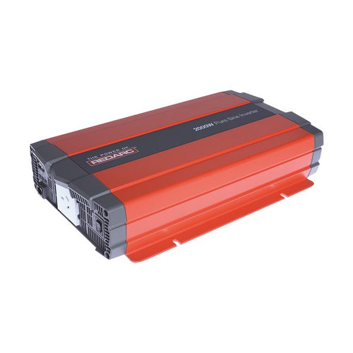 Redarc 2000W 12V PURE SINE WAVE INVERTER RS-12-2000RS2