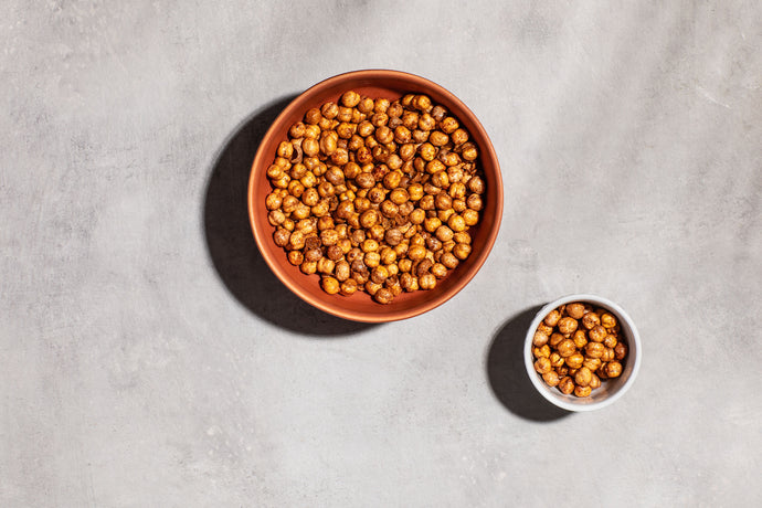 Your New Favorite, #PlantableApproved Snack: Spicy Roasted Chickpeas