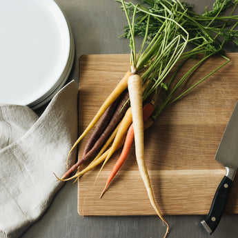 Simple Side Dish: Garlic Roasted Carrots