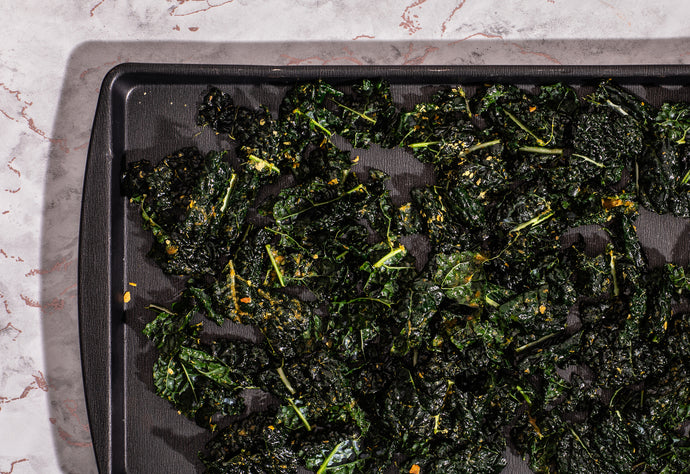 Simple Recipe: Chili Lime Kale Chips