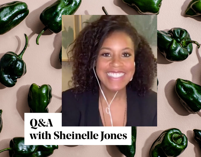 At Home Series: Q&A with Sheinelle Jones
