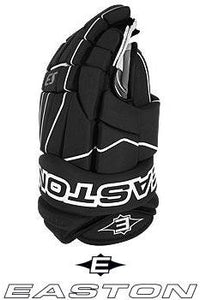 "NEW Easton S3 Hockey Gloves Black White 10"" Inch"