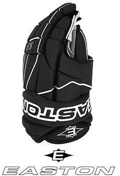 NEW Easton S3 Hockey Gloves Black White 10
