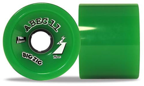 ABEC11 Classic - BigZigs Classic 75mm Wheels Pk4