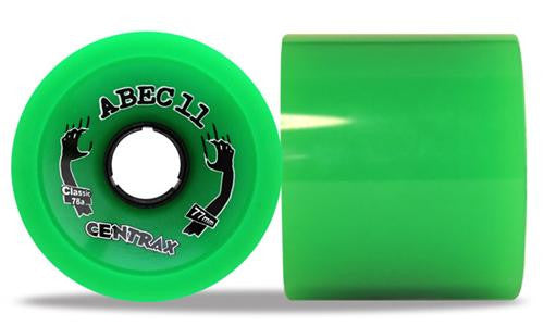 Abec 11 Centrax Classic Green 77mm Wheels 4 Pack