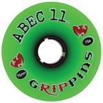 ABEC 11 Wheels Grippins 70mm Green 4 Pack