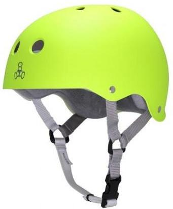 Triple 8 Brainsaver Helmet Zest Fluro Gloss W/Grey