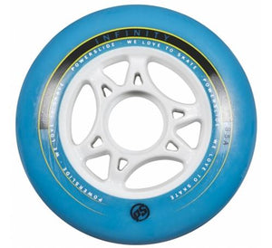 Powerslide Infinity Wheels 125mm 88a Blue Each