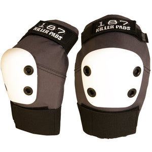 187 Elbow Pads Regular Grey w/ White