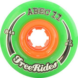 Abec 11 Freerides Classic 72mm Wheels 4 Pack