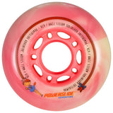 Powerslide Princess Girls 72mm 80a  4 Pack