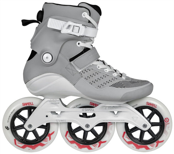 Powerslide Swell City Grey 125 Inline Skates