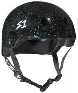 S1 Lifer Helmet Black Glitter