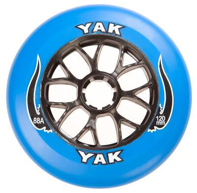 Yak Blue/Blk 120mm/88a