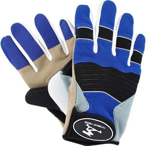 Timeship Downhill Gloves Freeride Blue