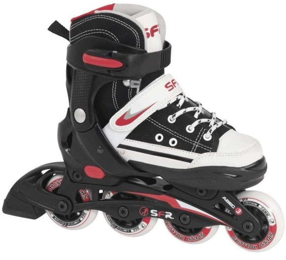 SFR Camden Adjustable Black Inline Skates