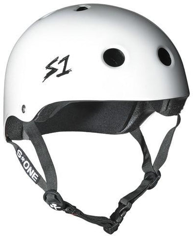 S1 Lifer Helmet White Gloss