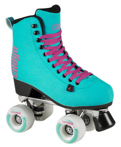 Chaya Melrose Deluxe Turquoise Roller Skates