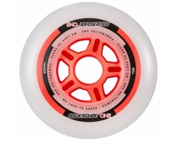 Powerslide One 100mm 85a Wheels Red 4 Pack