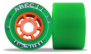 ABEC 11 Flywheel 76mm Green 4 Pack