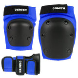 Smith Scabs Tri Pack Adult (knee, elbow, wrist) Blue
