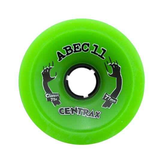 ABEC 11 Wheels Centrax Classic 77mm Green 4 Pack