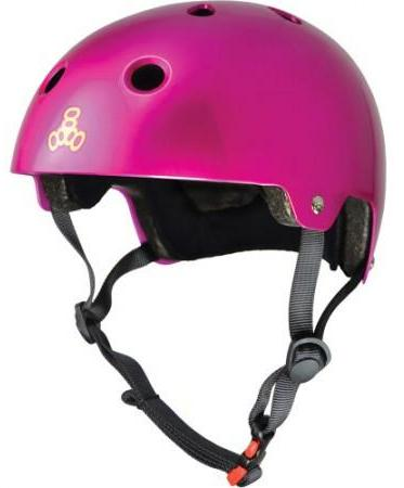 Triple 8 Certified Helmet Pink Metallic