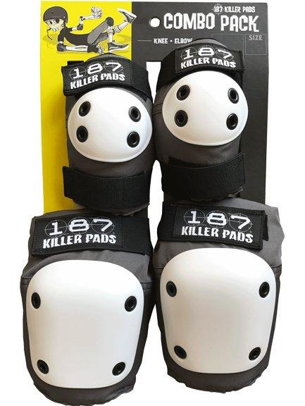 187 Adult Combo Pack Grey (Knee & Elbow)