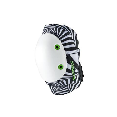 Smith Scabs Elbow Pad Hypno Psycho Black and White