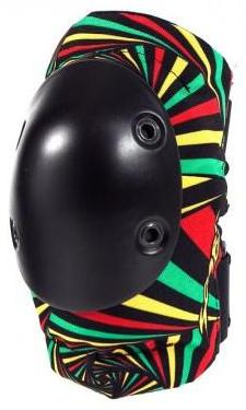 Smith Scabs Elite Rasta Elbow Pads