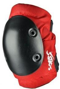 Smith Scabs Elite Red Elbow Pads