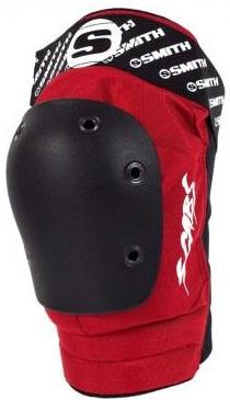Smith Scabs Elite Red Knee Pads