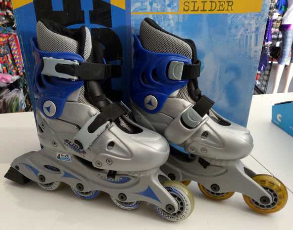 NEW Blade X Slider Adjustable Blue Inline Junior Skate