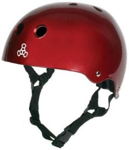 Triple 8 Brainsaver Helmet Red Gloss