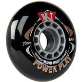 Kryptonics Wheels Powerplay 80mm 84a Black - Each