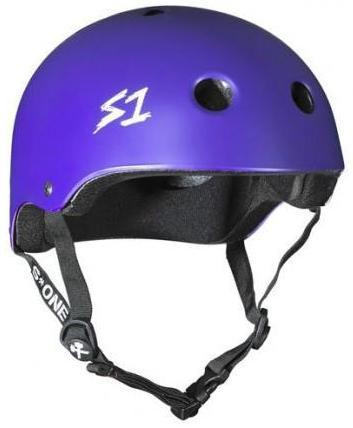 S1 Lifer Helmet Purple Matte