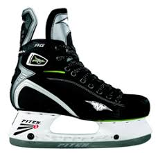 Mission Fuel 80 AG Black Green Hockey Ice Skate Size 9 | US 11 | Euro 43.5