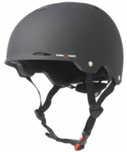 Triple 8 Gotham Certified Helmet Black Rubber