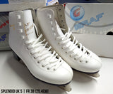 OLD STOCK Graf Splendid Figure White Ice Skates
