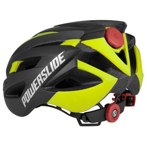 Powerslide Race Attack Helmet Black/Yellow